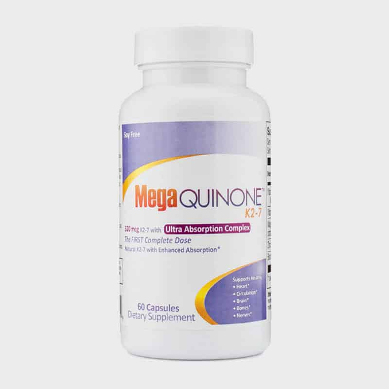MegaQuinone 60 Capsule Bottle